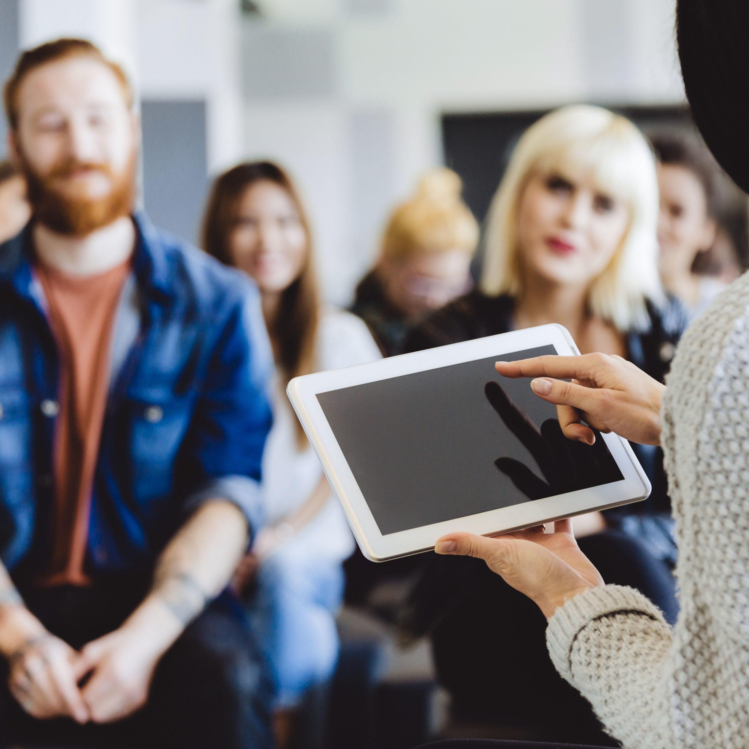 Increasing staff competencies